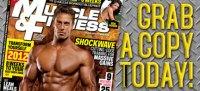 January 2012 Cover Story - Get Jacked Like Marc Megna!