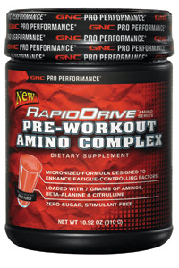 RapidDrive Pre-Workout Amino Complex