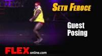 Seth Feroce Guest Poses at 2012 Fouad Abiad Open