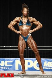 Angelita McGhee - 2012 NPC Nationals - Women's Lightweight