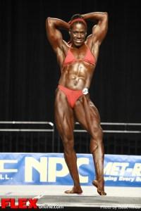 Tischa Thomas -  2012 Nationals - Women's Heavyweight