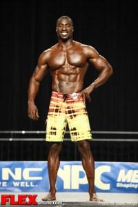 Travales Blount - 2012 NPC Nationals - Men's Physique D