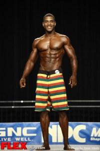 Xavisus Gayden - 2012 NPC Nationals - Men's Physique E