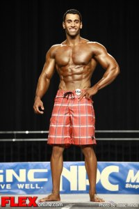 Russell Waheed - 2012 NPC Nationals - Men's Physique F