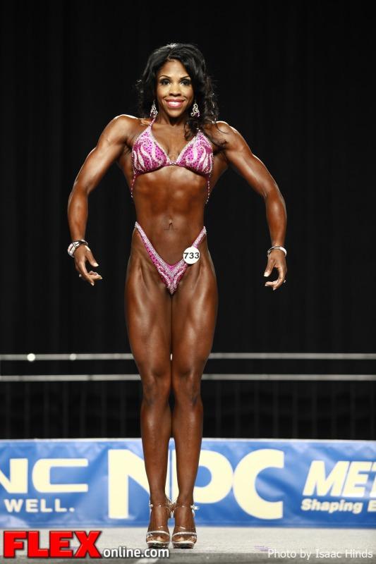 Nicole Sims - 2012 NPC Nationals - Figure C