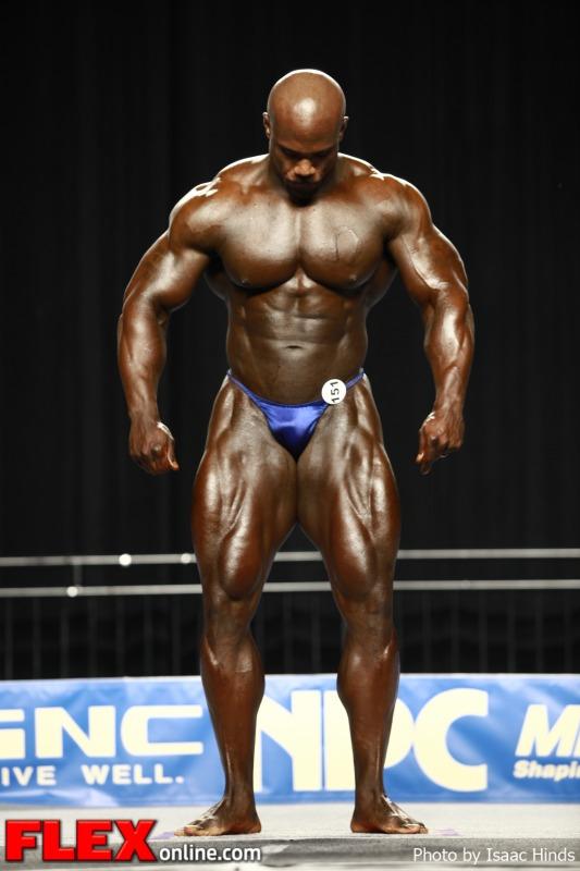 Eboni Wilson - 2012 NPC Nationals - Men's Super Heavyweight