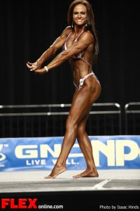 Nickie Clark - 2012 NPC Nationals - Women's Physique B
