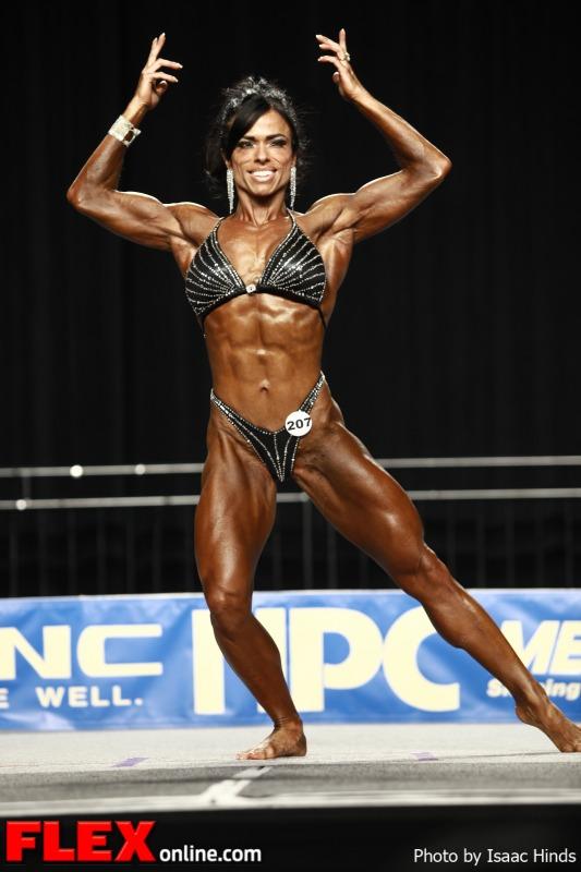 Rocio Guillen - 2012 NPC Nationals - Women's Physique B