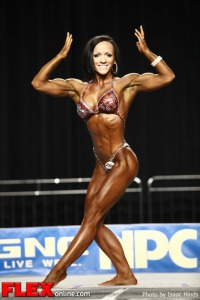 Ally Baker - 2012 NPC Nationals - Women's Physique B