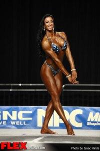 Jayla McDermott - 2012 NPC Nationals - Women's Physique C
