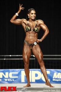Jessica Gaines-Ortiz - 2012 NPC Nationals - Women's Physique C