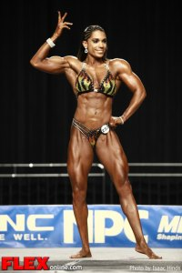 Jessica Gaines-Ortiz - 2012 NPC Nationals - Women's Physique C