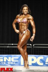 Asha Hadley - 2012 NPC Nationals - Women's Physique D