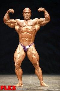 Michael Kefalianos - 2012 Masters Olympia