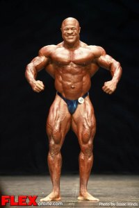 Bill Wilmore - 2012 Masters Olympia