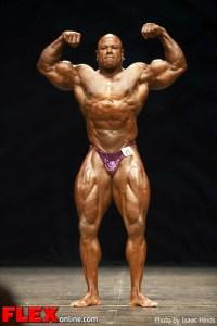 Nathan Wonsley - 2012 Masters Olympia