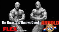 DJ Trains Haley and Freeman for the 2013 Arnold Classic