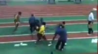 High School Relay Turns Into Free for All Brawl