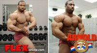Cedric McMillan 6 Weeks Out from 2013 Arnold