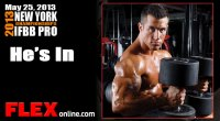 Antoine Vaillant Intense Workout for New York Pro