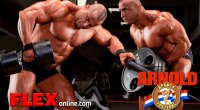Abiad Trains Back & Hams 2 Weeks from Arnold