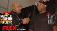 Marcus Haley before the 2013 Arnold Classic