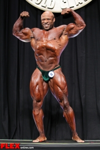 Marcus Haley - 2013 Arnold Classic - Men's Bodybuilding