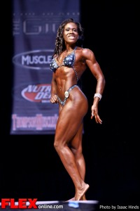 Brittane Mergerson - Women's Physique - Phil Heath Classic 2013