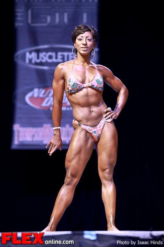 Dominique Barksdale - Women's Physique - Phil Heath Classic 2013