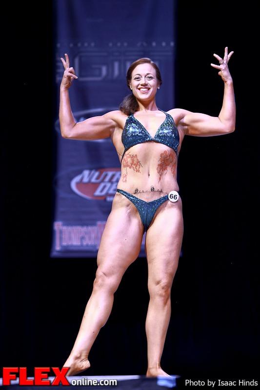 Nola Jones - Women's Physique - Phil Heath Classic 2013