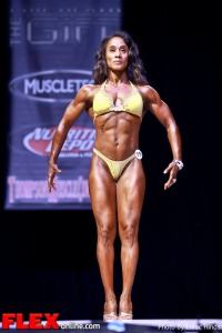 Mariko Cobbs - Figure Class A - Phil Heath Classic 2013