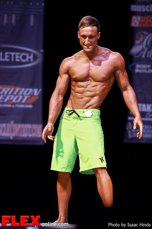 Alec Davison - Men's Physique Class D - Phil Heath Classic 2013