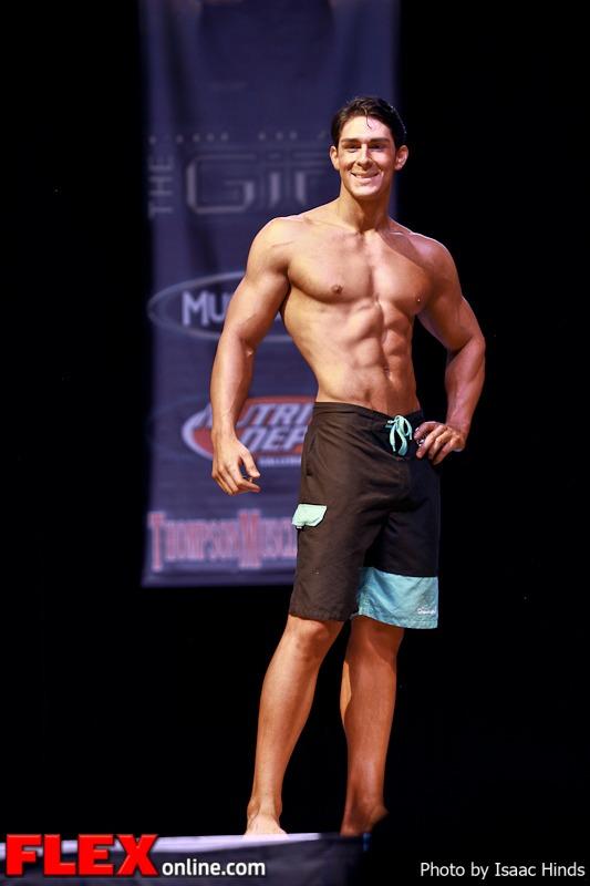Nick Rodriguez - Men's Physique Class D - Phil Heath Classic 2013