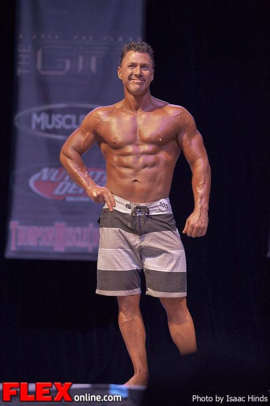 Sean Meehan - Men's Physique Masters - Phil Heath Classic 2013