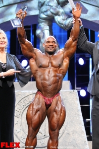 Best Poser Awards - Fred Smalls - 2013 Arnold Classic