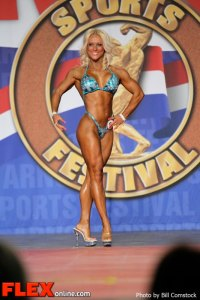 Kizzy Vaines - 2013 Fitness International