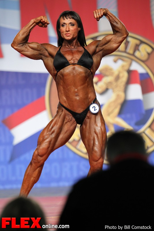 Tazzie Columb - 2013 Arnold Classic