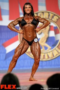 Tazzie Columb - 2013 Arnold Classic