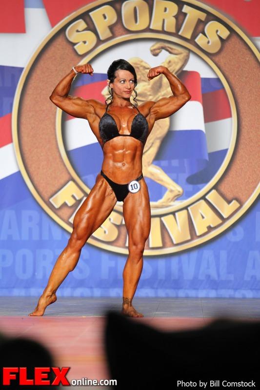 Eleni Kavva - 2013 Arnold Classic