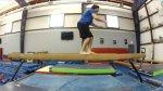 Balance Beam Backflip Fail