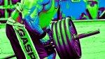 Back exercises: T-bar row