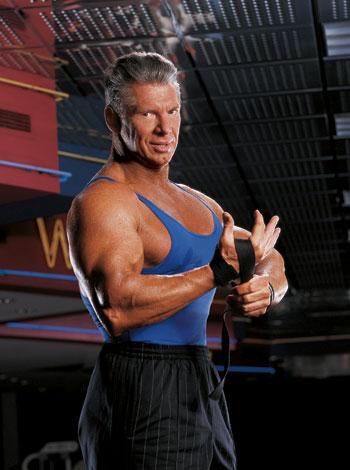 Vince McMahon's Back Workout