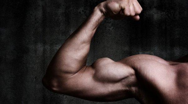 bicepsflexing