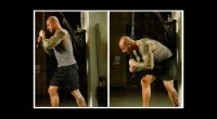 oblique & ab exercises - bell tower crunch