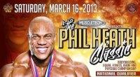 Catch All 2013 Phil Heath Classic Updates Here