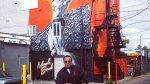 Arnold Shares Muscle Beach Mural