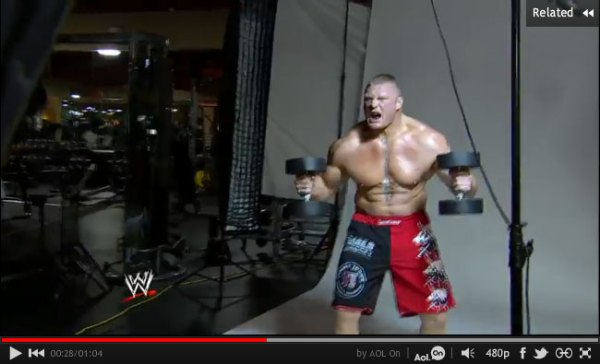 Brock Lesnar's Triumphant Return to the WWE   Muscle & Fitness