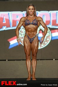 Diana Monteiro - 2013 Arnold Brazil