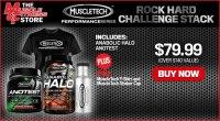 MuscleTech Rock Hard Challenge Stack