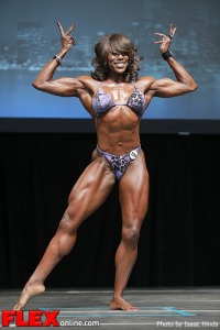 La'Drissa Bonivel - Women's Physique - 2013 Toronto Pro
